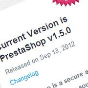 Prestashop 1.5 Released