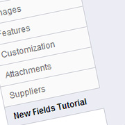 Adding new tabs and fields to Prestashop products' back office