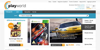 Game and Books Prestashop PSD Template preview