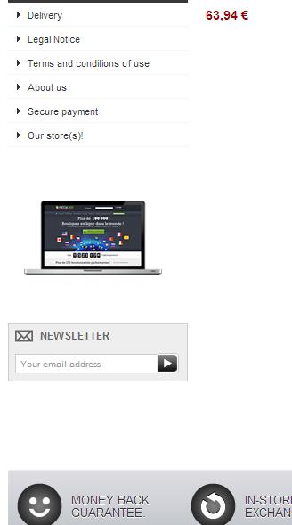 Prestashop Newsletter Block Module