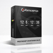 Prestashop Module - Countdown Sales