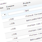 Add bought products to the Prestashop order list in the back office