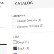 Hook the Prestashop Layered Navigation Block to the Center Column