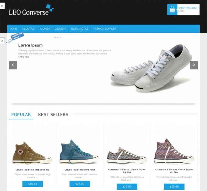 Free PrestaShop Theme - Leo Converse