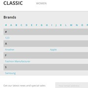 Manufacturers in alphabetical list in PrestaShop 1.7